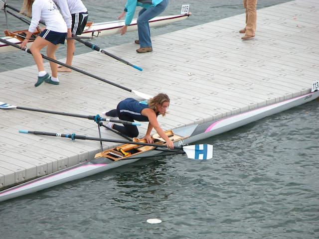 Rower with 1000 Series